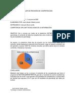 Informe de Sofia Plus Revision de Competencias