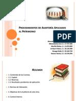 Auditoría Patrimonio