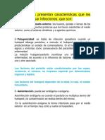 Mecanismos de acción patógena de los parásitos_MECANISMOS DE DEFENSA DEL HUÉSPED