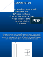 5.- Análisis de Miembros a Compresión. Columnas. Carga Críti