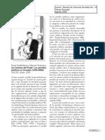 Los Dueños Del Poder. Los Partidos Políticos En Ecuador 1978-2000.pdf