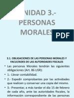UNIDAD 2.- PERSONAS MORALES