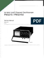PM3215 Oscillascope Service Manual