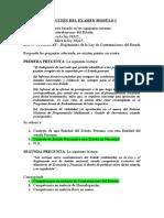 Solución del examen I contrataciones del estado