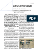 ROBOTS USING MONOCULAR VISION AND LASER STRIPES