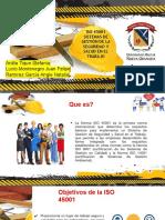 NORMAS ISO 45001