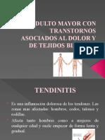 ADULTO MAYOR CON TRANSTORNOS ASOCIADOS AL DOLOR Y