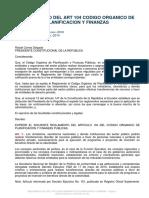Reglamento del ART 104 Codigo Organico de planificacion y finanzas.pdf