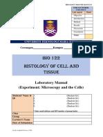 1.0 Laboratory Manual BIO122 latest