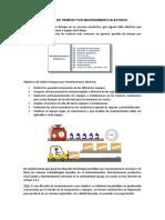 REDUCCIÓN DE TIEMPOS POR M.E - Punto 3