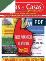 REVISTA CASAS Y CASAS ENERO 2011 murcia