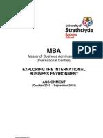 EIBE Assignment International Centres 2010-2011-Final