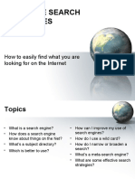 PPT - Effective Web Searching.ppt