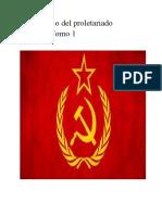 El libro rojo del proletariado equestre