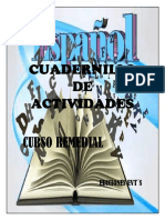 CURSO REMEDIAL ESPAÑOL