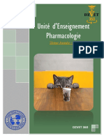 S8 Pharmacologie DZVET360 Cours Veterinaires