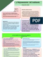 Ley de Protección y Mejoramiento Del Ambiente, análisis