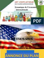 exposé sur les Etats unis