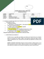 EXAMEN PARCIAL II - GRANDEZ RIOS JOSSIE