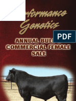 Pollard Farms Annual Bull & Commercial Female Sale Catalog 2011