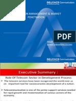 Presentation on Distribution management and mkt penetration