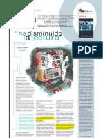 """ha disminuido la lectura"" (Suplemento Q), PuntoEdu. 06/06/2005"