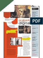 Grabado en digital (Suplemento Q), PuntoEdu. 20/06/2005