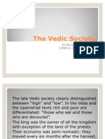Clase 4 the Vedic Society