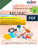 SPA MUSIC7-Q1-Module 3