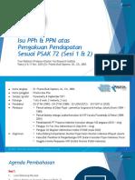 Isu PPh dan PPN atas Pengakuan Pendapatan Sesuai PSAK 72 (Sesi 2) 201109p