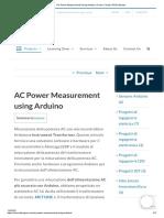 AC Power Measurement Using Arduino _ Code _ Circuit _ PCB _ Module