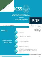 TEMA 1. EL ESTADO PERUANO. UCSS
