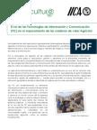 El rol de las TIC en el mejoramiento de las cadenas de valor agrícola