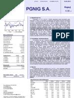 PGNiG - rekomendacja PKO BP z 31.01.2011