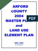 2004 Harford County Masterplan