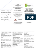 I Ciclo Debates IFTM-Ituiutaba PCDP 34-11