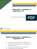 Unidad Temática 1 - Incidentes de Seguridad de la Información
