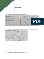 Ficha de Exercicios- teoria de circuitos