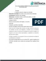 Características a evaluar 2.1