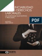 LA IRRENUNCIABILIDAD DE LOS DERECHOS LABORALES
