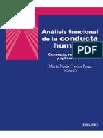 Analisis funcional de la conduc - Maria Xesus Froxan Parga - SANS SERIF.pdf