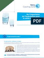 De l'importance de l'hydratation pour la santé de nos reins