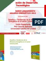 Waldo Bustamante - Lanzamiento anuario