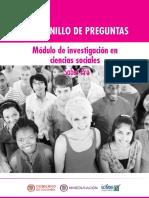 Cuadernillo de preguntas investigacion en ciencias sociales Saber Pro 2018.pdf