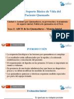 Unidad I TEMA 2 ABCD de las Quemaduras Dr Carlos Malpica