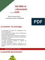QUALITE ISO 9001 2015