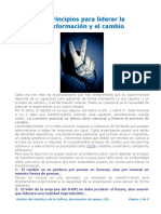 9A Diez principios para liderar la transformación y el cambio by Andrés Ortega Martínez...