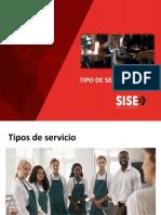 SESION N°7 TIPO DE SERVICIOS