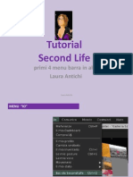 SecondLife Tutorial 4 Menu