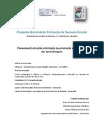 Programa Nacional de Promoção Do Sucesso Escolar Reformulado Julho de 2018
